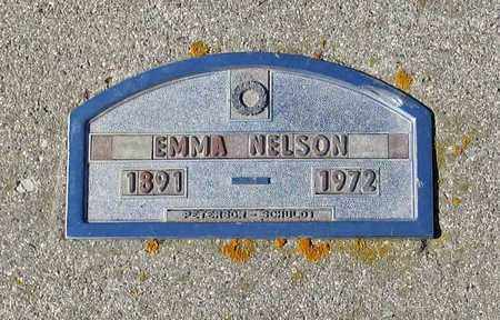 NELSON, EMMA - Barnes County, North Dakota | EMMA NELSON - North Dakota Gravestone Photos