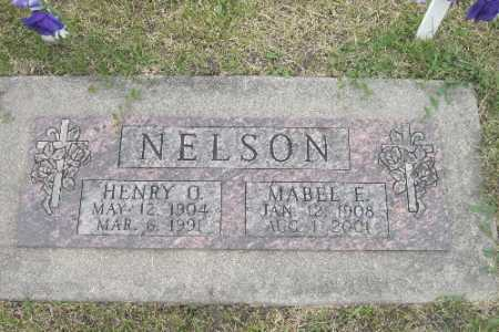 NELSON, MABEL E. - Barnes County, North Dakota | MABEL E. NELSON - North Dakota Gravestone Photos