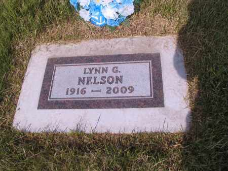 NELSON, LYNN G. - Barnes County, North Dakota | LYNN G. NELSON - North Dakota Gravestone Photos