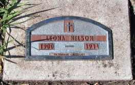 NELSON, LEONA - Barnes County, North Dakota | LEONA NELSON - North Dakota Gravestone Photos