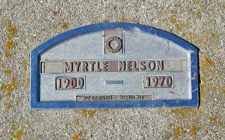 NELSON, MYRTLE - Barnes County, North Dakota | MYRTLE NELSON - North Dakota Gravestone Photos