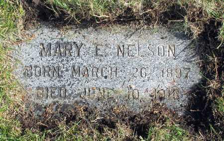 NELSON, MARY E. - Barnes County, North Dakota | MARY E. NELSON - North Dakota Gravestone Photos