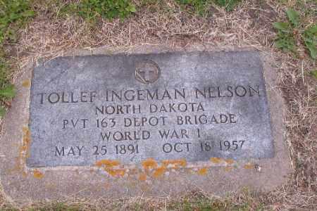 NELSON, TOLLEF INGEMAN - Barnes County, North Dakota | TOLLEF INGEMAN NELSON - North Dakota Gravestone Photos