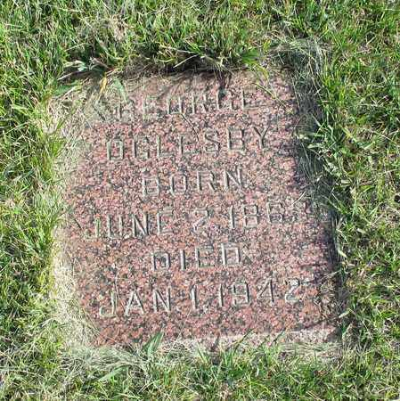 OGLESBY, GEORGE - Barnes County, North Dakota | GEORGE OGLESBY - North Dakota Gravestone Photos
