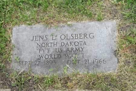 OLSBERG, JENS L. - Barnes County, North Dakota | JENS L. OLSBERG - North Dakota Gravestone Photos