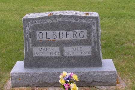 OLSBERG, OLE - Barnes County, North Dakota   OLE OLSBERG - North Dakota Gravestone Photos