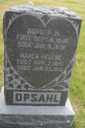 OPSAHL, MAREN HELEN - Barnes County, North Dakota | MAREN HELEN OPSAHL - North Dakota Gravestone Photos