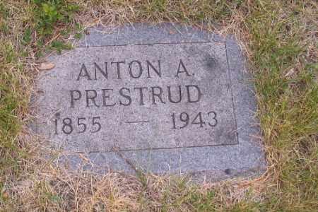 PRESTRUD, ANTON A. - Barnes County, North Dakota   ANTON A. PRESTRUD - North Dakota Gravestone Photos