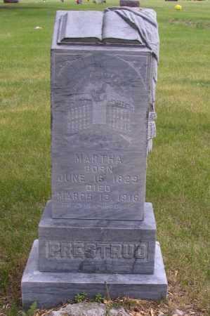 PRESTRUD, MARTHA - Barnes County, North Dakota | MARTHA PRESTRUD - North Dakota Gravestone Photos