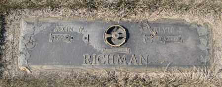 RICHMAN, EVELYN J. - Barnes County, North Dakota | EVELYN J. RICHMAN - North Dakota Gravestone Photos