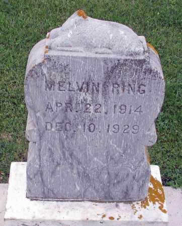 RING, MELVIN - Barnes County, North Dakota   MELVIN RING - North Dakota Gravestone Photos