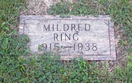 RING, MILDRED - Barnes County, North Dakota   MILDRED RING - North Dakota Gravestone Photos
