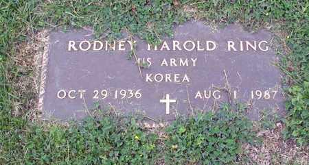 RING, RODNEY ARNOLD - Barnes County, North Dakota | RODNEY ARNOLD RING - North Dakota Gravestone Photos