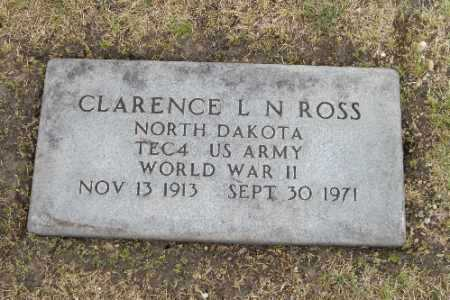 ROSS, CLARENCE L. - Barnes County, North Dakota | CLARENCE L. ROSS - North Dakota Gravestone Photos