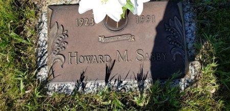 SABBY, HOWARD - Barnes County, North Dakota   HOWARD SABBY - North Dakota Gravestone Photos