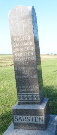 SARSTEN, SALAMON GUNDERSON - Barnes County, North Dakota | SALAMON GUNDERSON SARSTEN - North Dakota Gravestone Photos