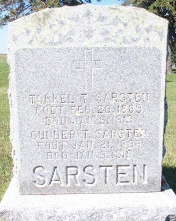 SARSTEN, TORKEL T. - Barnes County, North Dakota | TORKEL T. SARSTEN - North Dakota Gravestone Photos