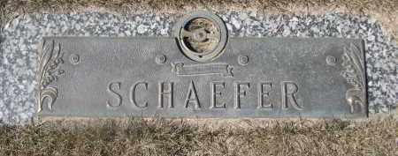 SCHAEFER, FAMILY - Barnes County, North Dakota | FAMILY SCHAEFER - North Dakota Gravestone Photos