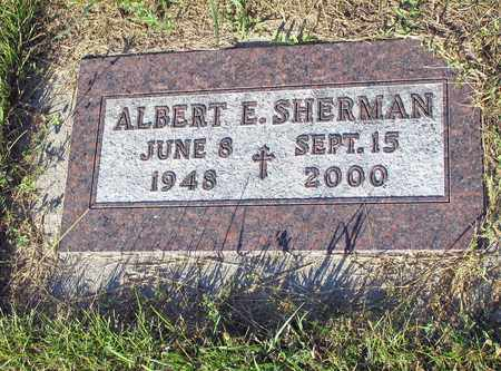 SHERMAN, ALBERT E. - Barnes County, North Dakota | ALBERT E. SHERMAN - North Dakota Gravestone Photos