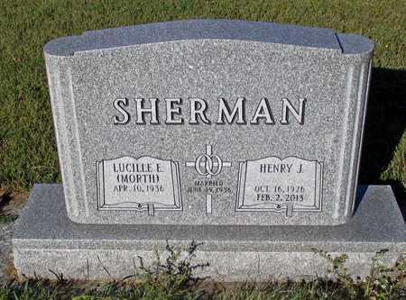 SHERMAN, HENRY J. - Barnes County, North Dakota | HENRY J. SHERMAN - North Dakota Gravestone Photos