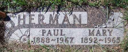 SHERMAN, PAUL - Barnes County, North Dakota | PAUL SHERMAN - North Dakota Gravestone Photos