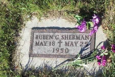 SHERMAN, RUBEN G. - Barnes County, North Dakota   RUBEN G. SHERMAN - North Dakota Gravestone Photos