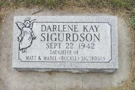 SIGURDSON, DARLENE KAY - Barnes County, North Dakota | DARLENE KAY SIGURDSON - North Dakota Gravestone Photos