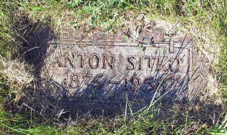 SITKO, ANTON - Barnes County, North Dakota | ANTON SITKO - North Dakota Gravestone Photos