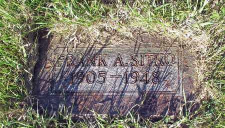 SITKO, FRANK A. - Barnes County, North Dakota | FRANK A. SITKO - North Dakota Gravestone Photos