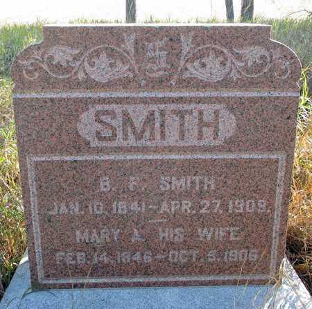 SMITH, MARY A. - Barnes County, North Dakota | MARY A. SMITH - North Dakota Gravestone Photos