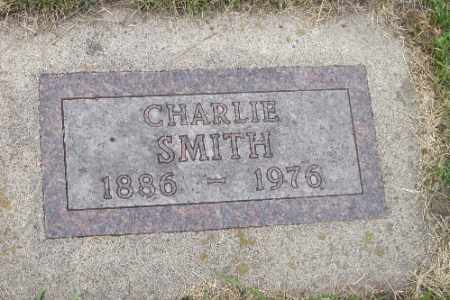 SMITH, CHARLIE - Barnes County, North Dakota | CHARLIE SMITH - North Dakota Gravestone Photos