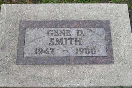 SMITH, GENE D. - Barnes County, North Dakota   GENE D. SMITH - North Dakota Gravestone Photos