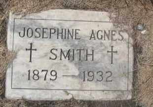 SMITH, JOSEPHINE AGNES - Barnes County, North Dakota | JOSEPHINE AGNES SMITH - North Dakota Gravestone Photos