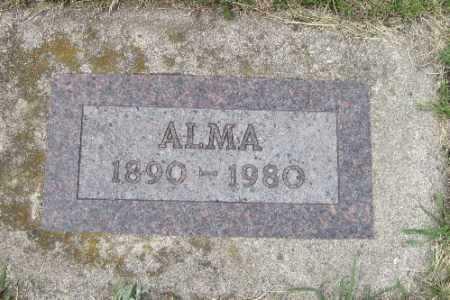 SOLDHEIM, ALMA - Barnes County, North Dakota | ALMA SOLDHEIM - North Dakota Gravestone Photos