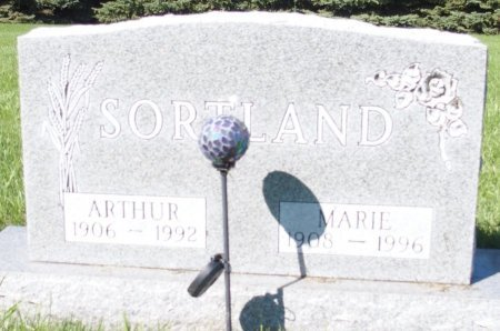 SORTLAND, MARIE - Barnes County, North Dakota | MARIE SORTLAND - North Dakota Gravestone Photos