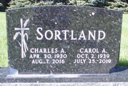 SORTLAND, CAROL A. - Barnes County, North Dakota | CAROL A. SORTLAND - North Dakota Gravestone Photos