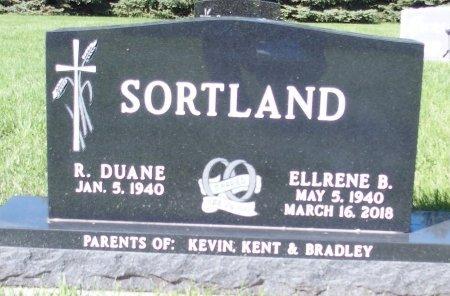 SORTLAND, ELLRENE B. - Barnes County, North Dakota   ELLRENE B. SORTLAND - North Dakota Gravestone Photos