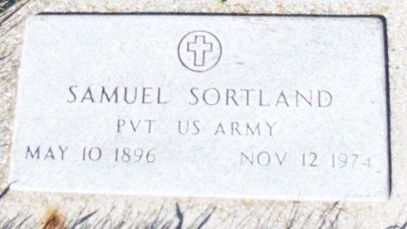 SORTLAND, SAMUEL - Barnes County, North Dakota | SAMUEL SORTLAND - North Dakota Gravestone Photos
