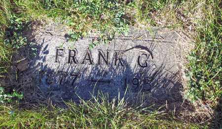STANGLER, FRANK G. - Barnes County, North Dakota | FRANK G. STANGLER - North Dakota Gravestone Photos