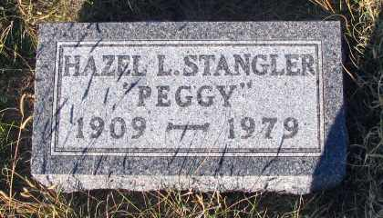 STANGLER, HAZEL L. - Barnes County, North Dakota | HAZEL L. STANGLER - North Dakota Gravestone Photos