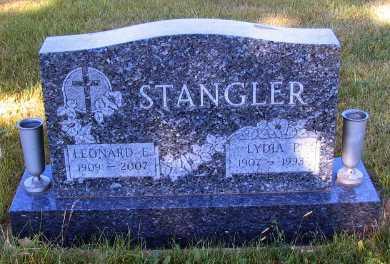 STANGLER, LEONARD L. - Barnes County, North Dakota | LEONARD L. STANGLER - North Dakota Gravestone Photos