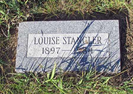 STANGLER, LOUISE - Barnes County, North Dakota | LOUISE STANGLER - North Dakota Gravestone Photos