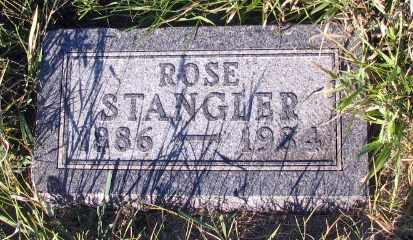 STANGLER, ROSE - Barnes County, North Dakota   ROSE STANGLER - North Dakota Gravestone Photos