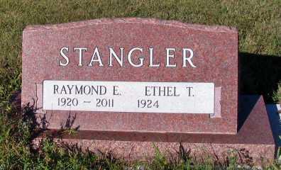 STANGLER, RAYMOND E. - Barnes County, North Dakota | RAYMOND E. STANGLER - North Dakota Gravestone Photos