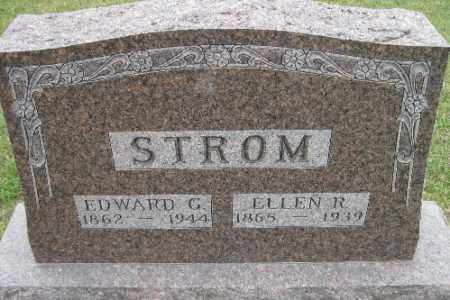 STROM, EDWARD G. - Barnes County, North Dakota | EDWARD G. STROM - North Dakota Gravestone Photos