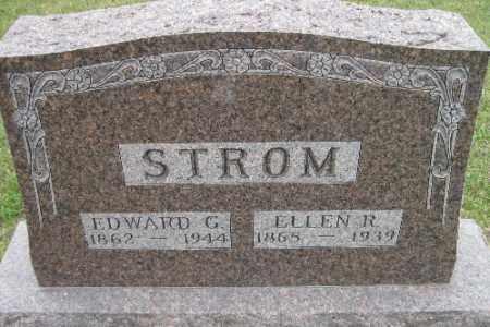 STROM, ELLEN R. - Barnes County, North Dakota   ELLEN R. STROM - North Dakota Gravestone Photos