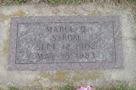 STROM, MABEL O. - Barnes County, North Dakota | MABEL O. STROM - North Dakota Gravestone Photos
