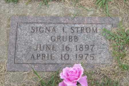GRUBB STROM, SIGNA I. - Barnes County, North Dakota | SIGNA I. GRUBB STROM - North Dakota Gravestone Photos