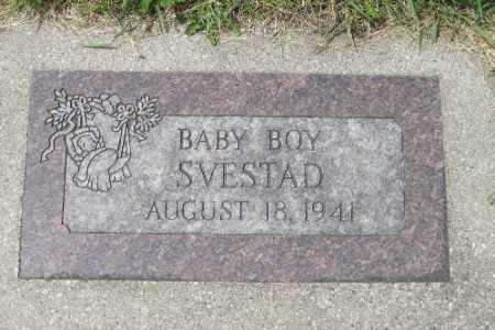 SVESTAD, BABY BOY - Barnes County, North Dakota | BABY BOY SVESTAD - North Dakota Gravestone Photos