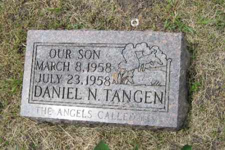 TANGEN, DANIEL N. - Barnes County, North Dakota   DANIEL N. TANGEN - North Dakota Gravestone Photos
